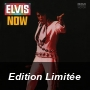 Elvis Now - Translucent Blue & Black Swirl Vinyl / Limited Anniversary Edition/Gatefold Cover & Poster)