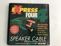 Speaker Câble eXpress 4 (Série 1) - Bayonet connector / 3 mètres